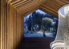 Treehouse installed, Israel Museum, Jerusalem, Israel by Ifat Winkelman & Deborah Warschawski