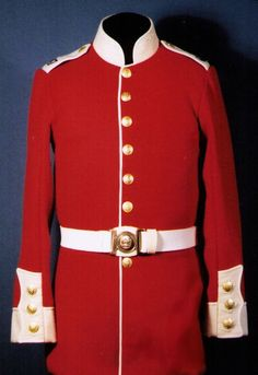 Tunic of a Private in the 47th Regiment of Foot, circa 1865. Fort York, Heritage Toronto.