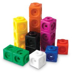 Help young students master early math skills with these stackable cubes. Cubes link together on all sides and feature geometric shape cutouts for more complex patterning activities. Compatible with other linking cubes. Ipad Sketch, Troubles Autistiques, Counting To 100, Sports Games For Kids, Best Educational Toys, Math Manipulatives, Early Math, Math Skills, Math Lessons
