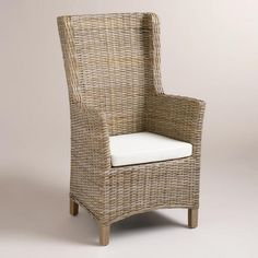 WorldMarket.com: Amelia Woven Wingback Armchairs, Set of 2