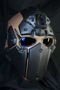 Check out the YouTube videos on Devtac Japan's Ronin Mask
