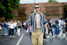 See all of our latest street-style photos from the menswear fair here.