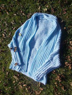 Návod na cardigan Crochet Cardigan Pattern, Crochet Clothes, Tweed, Desi, Knitted Hats, Knitting, Sweaters, Fashion, Tejidos