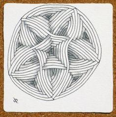 Zentangle (R) auraknot