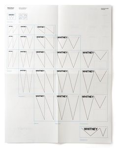 What a great explanation of the Whitney's responsive logo.