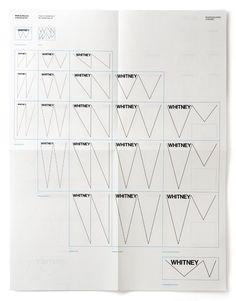 Whitney Graphic Identity - Experimental Jetset