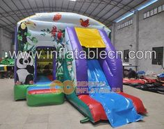 Jungle combo #bouncehouse #bounce #inflatablejump