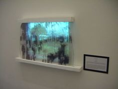 Print on Glass w/ Projection, 'Multiples of Edinburgh.'