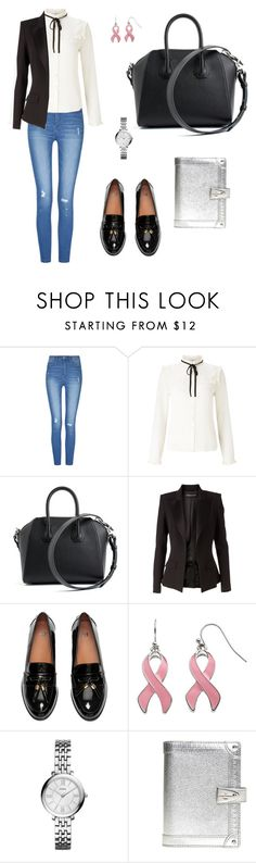 """Untitled #325"" by mariafilomena471 ❤ liked on Polyvore featuring Lipsy, Givenchy, Alexandre Vauthier, FOSSIL and Louis Vuitton"
