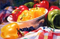 Anne Abgott's Gallery of Water Colors | Silver