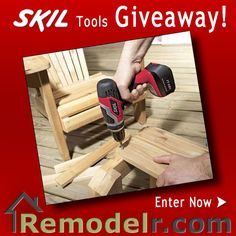 Enter to win a Skil 18 Volt Lithium-Ion Cordless Drill Driver!