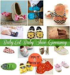 BabyList Baby Shoe  Giveaway BabyList Baby Registry Checklist:  http://babyli.st/baby-registry-checklist - #giveaway and #babylist