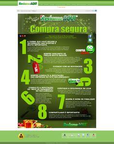 Dicas para comprar com segurança na internet.   fonte: http://www.reclameaqui.com.br/blacklistnatal/dicas/