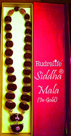 Siddha mala consists of 27+1 beads. It is helpful for achieving total health, harmony and prosperity of soul, mind and body. See more http://rudralife.com/siddha_mala_SM.html