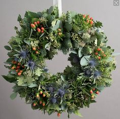 The 8 best Christmas wreaths for 2019 (and how to make one) Your Christmas decor isn't complete without a festive wreath. Here are some of the most impressive for sale Christmas Door Wreaths, Christmas Flowers, Noel Christmas, Holiday Wreaths, Christmas Crafts, Christmas Decorations, Christmas Stuff, Christmas Floral Designs, Amazon Christmas