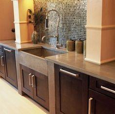 Concrete Countertops - kitchen countertops - atlanta - by J. Aaron