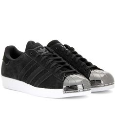best sneakers 6d326 ee5a1 Adidas Superstar 80s Metal Toe Sneakers ( 155) ❤ liked on Polyvore  featuring shoes,