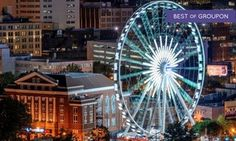 Groupon - Romance Package, Date Night for Two, or Admission for Four to SkyView Ferris Wheel (Up to 38% Off)       in Downtown Atlanta. Groupon deal price: $23