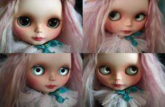 RESERVED  Blythe custom OOAK SBL Takara I love by bonjourmapoupee, $300.00