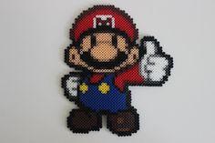 Mario Paper Mario Perler Bead Sprite by LinlyBits on Etsy
