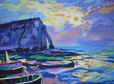 schilderijen normandie - Google zoeken