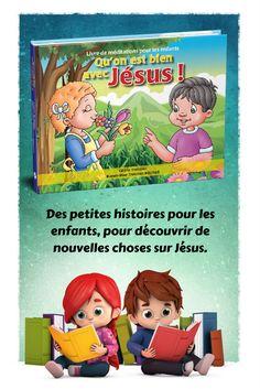 """""""Qu'on est bien avec Jésus"""" est un livre de 180 méditations créées spécialement pour les petits. Grâce à ce travail, l'enfant s'habituera dès son plus jeune âge à la prière personnelle."""