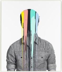 Douglas Coupland Self Portrait Graphic Design Illustration, Photo Illustration, Douglas Coupland, Glitch Art, Gcse Art, Canadian Artists, Poses, Art Inspo, Collage Art