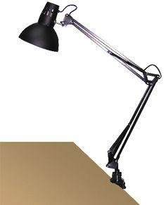 ARNO - pracovná lampa čierna