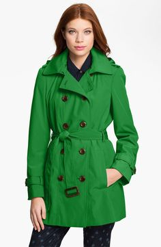 Calvin Klein Trench Coat with Detachable Liner