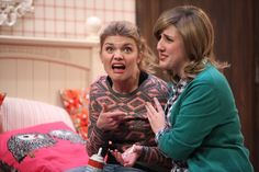 """Mallory (L) and Whitney (R) perform in the comedy sketch, """"The Real Bully."""" In this episode, Drew talks with Studio C's Mallory Everton and Whitney Call about impractical college …"""