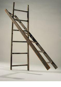found ladder assemblage  Jamie Cumming