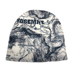 Yosemite Map Beanie - Yosemite Online Store - Official Online Store Beanie ffbf7daf77fb
