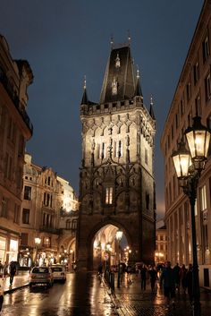 Prague is definitely on our travel bucket list. However, even if it wasn't, this photo would make it so! How wonderful is this architecture and lighting?