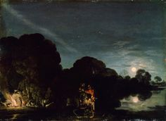 Adam Elsheimer - Die Flucht nach Ägypten (Alte Pinakothek), 1609