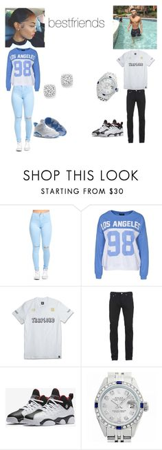 """bestfriend date"" by baesfordayss on Polyvore featuring Sally&Circle, adidas, Paul Smith, NIKE, Rolex and Bloomingdale's"