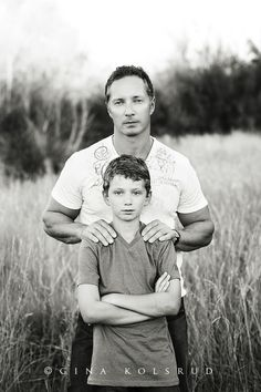 Gina Kolsrud – love the father son pose