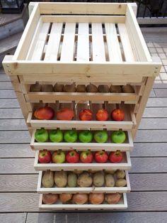 Make a Food Storage Shelf