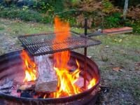 Father's Day Gifts with Love from Michigan. Treat dad to this campfire grill and more!