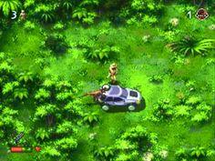The lost world: Jurassic Park (1992). Platform: Sega Genesis [Mega Drive].