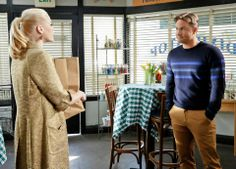 "#HartOfDixie -- ""Back in the Saddle Again"" -- Image Number: HA318b_0301b.jpg -- Pictured (L-R): Jaime King as Lemon and Scott Porter as George -- Photo: Greg Gayne/The CW -- © 2014 The CW Network, LLC. All rights reserved. C 2014 THE CW NETWORK, LLC. ALL RIGHTS RESERVED."