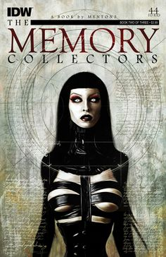The Memory Collectors #2 (of 3)  menton3, Ben Murphy (w) • menton3, Ben Templesmith (a) • menton3 (c)  Magdalena and Edith join the mercurial Beatrice and venture forth to battle demon-vampire hordes in an attempt to confront the actual forces behind them. Amid the ensuing chaos, the models-turned-hunters pay a severe price for their perceived transgression.  FC • 32 pages • $3.99
