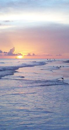 Siesta Key sunset. . . A little slice of heaven!