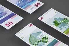 United World Bank Money by Lili Köves, via Behance