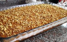 Greek Desserts, Party Desserts, Food Decoration, Macaroni And Cheese, Sweet Home, Food And Drink, Chocolate, Cooking, Ethnic Recipes