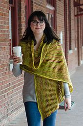 Ravelry: Cobbled Wrap & Scarf pattern by Laura Chau