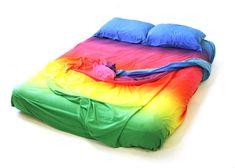 Photoshop Gradient Demonstration Bedsheets (SRF-011) — Cory Arcangel's Official Portfolio Website and Portal