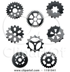 wheels and cogs pattern - Google Search