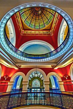 Queen Victoria Building, Sydney, Australia by Renee Doyle