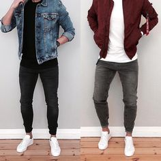 Fashion, Clothing, Shoes: Looks with which the checkered jacket will not be like the one of the whole world Trendy Mens Fashion, Men Fashion, Fashion Menswear, Trending Fashion, Fashion Ideas, Fashion Outfits, Fashion Trends, Casual Outfits, Men Casual