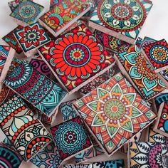 Ceramic Mosaic Tiles - Moroccan Tile Bright Colors